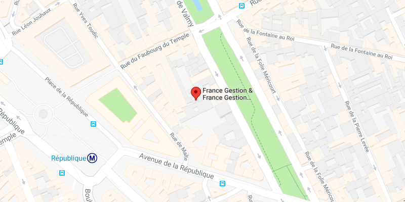 Google Map France Gestion Paris